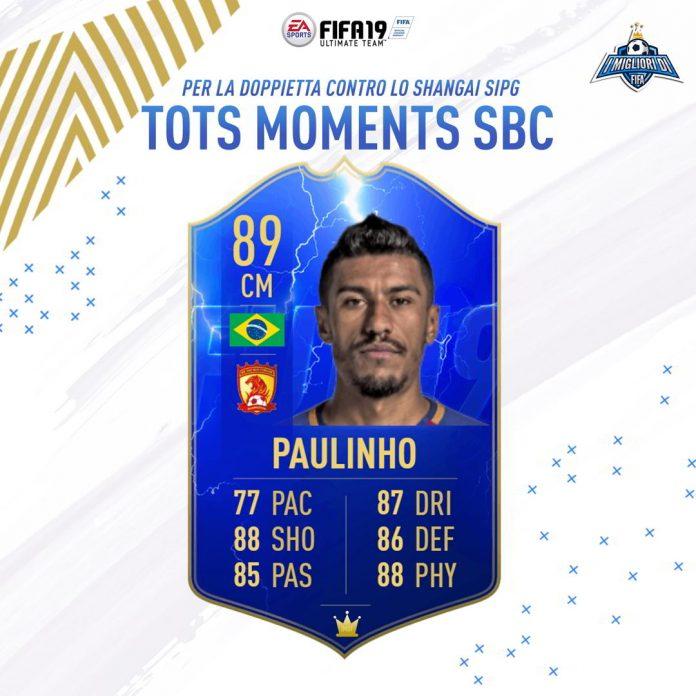 SBC TOTS Moments Paulinho