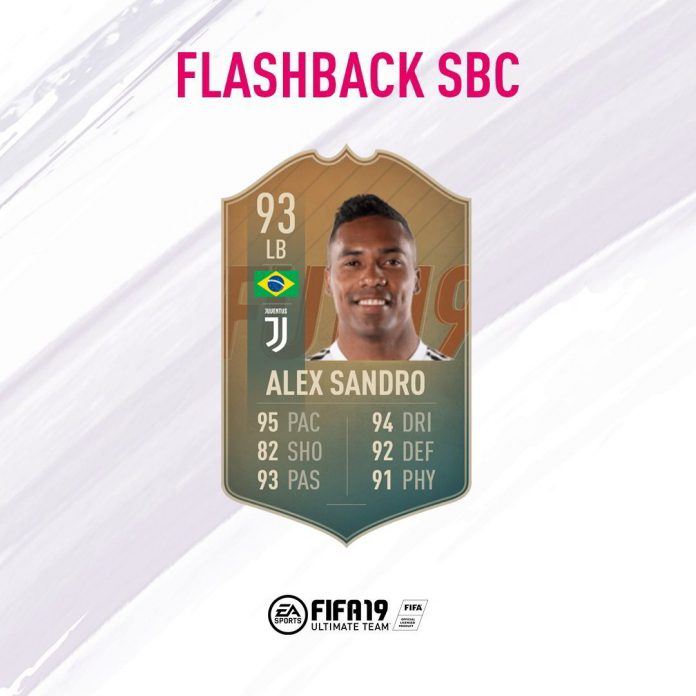 SBC Alex Sandro Flashback