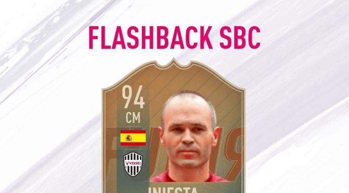 SBC Iniesta Flashback