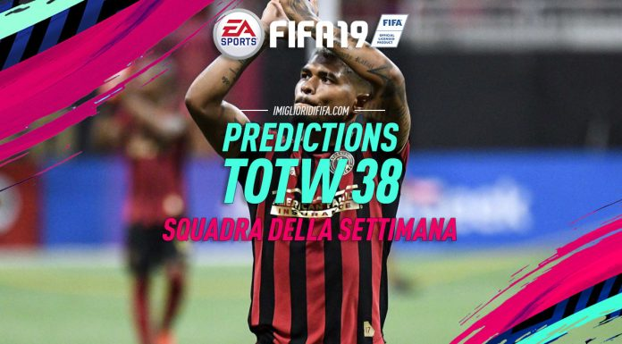 TOTW 38 Predictions