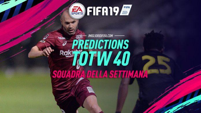 TOTW 40 FIFA 19