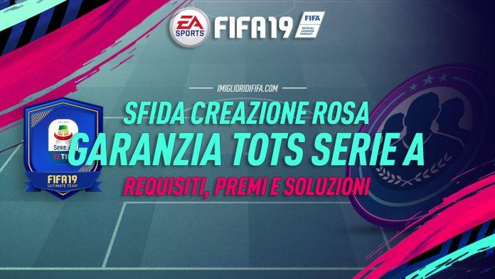 SBC TOTS Serie A garantito