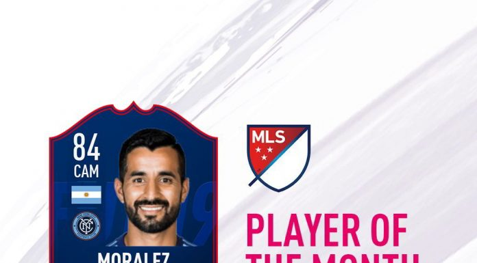 POTM MLS Maxi Moralez
