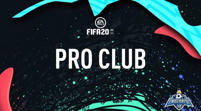 Pro Club FIFA 20