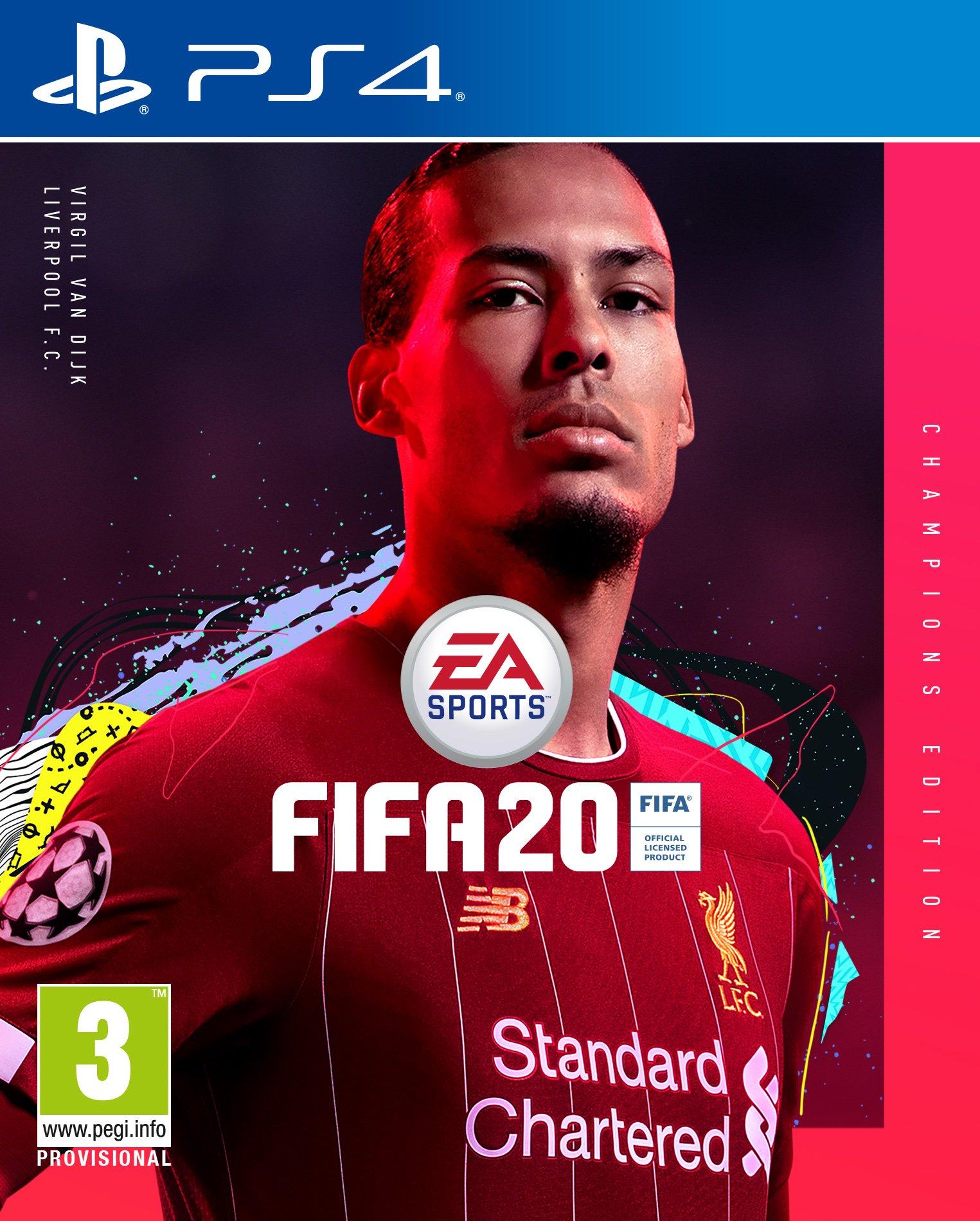 Van Dijk Copertina FIFA 20