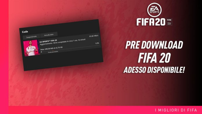 Pre Download FIFA 20