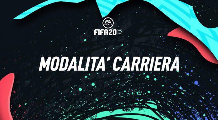 Carriera Allenatore FIFA 20 novità