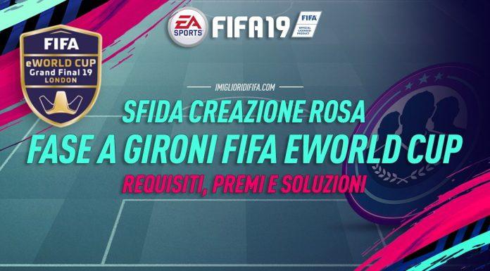 SBC Fase a gironi FIFA eWorld Cup