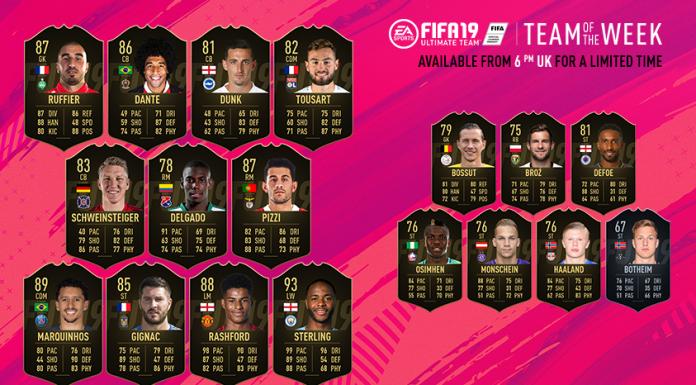 TOTW 42 FIFA 19