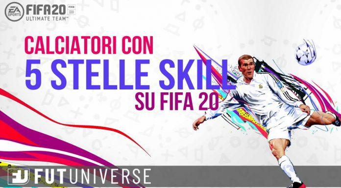 FIFA 20 5 Stelle Skill Lista Completa