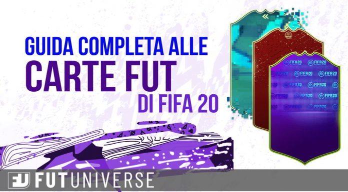 Carte FUT Fifa 20 Guida Completa