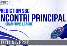 Prediction Incontri Principali UCL