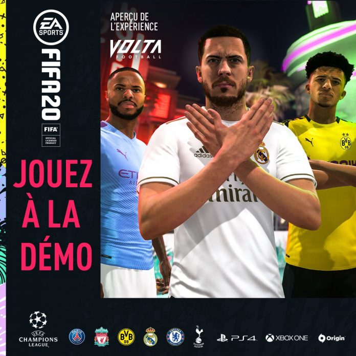 Demo FIFA 20 disponibile