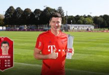 Lewandowski POTM Bundesliga agosto SBC