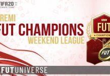 Premi FUT Champions Weekend League FIFA 20