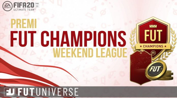 Premi FUT Champions Weekend League FIFA 20