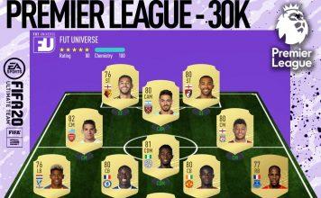 Premier League economica FIFA 20