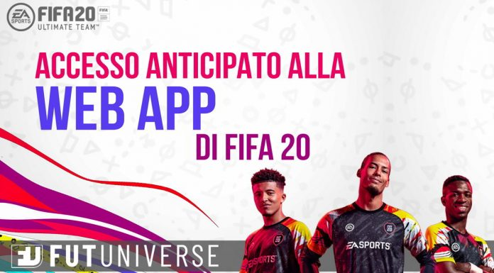 FUT Web App FIFA 20