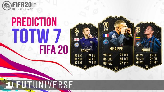 TOTW 7 Prediction FIFA 20