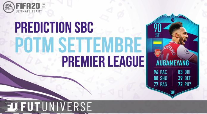 Prediction SBC POTM Sett Premier League
