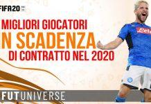Fifa 20 Giocatori in scadenza di contratto nel 2020 carriera allenatore