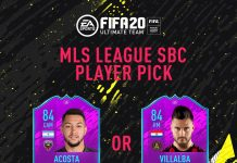 MLS League SBC