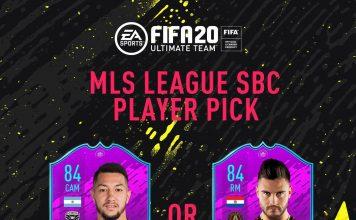 MLS League SBC