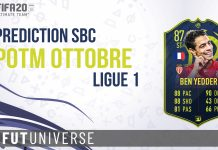 Prediction SBC POTM Ott Ligue 1
