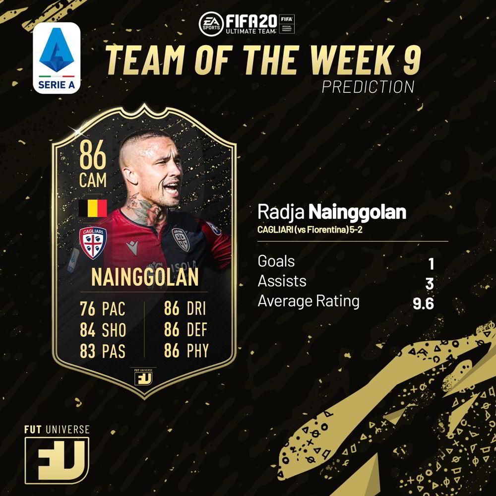 Nainggolan TOTW 9