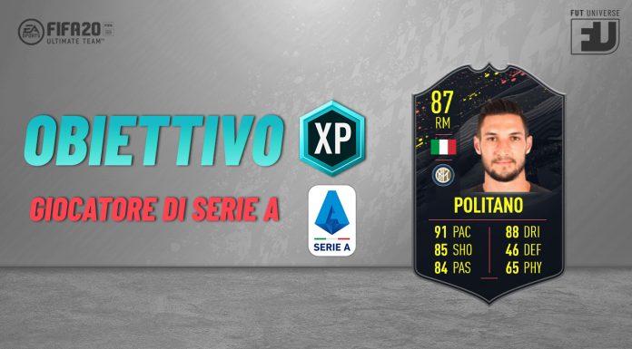 Obiettivo Giocatore Serie A - Come ottenere la card di Politano