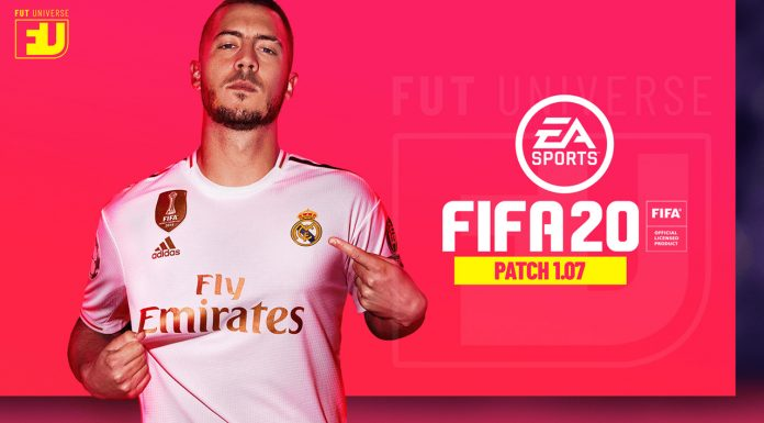 Patch 1.07 FIFA 20