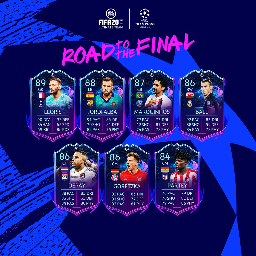 Road to the final Team 2