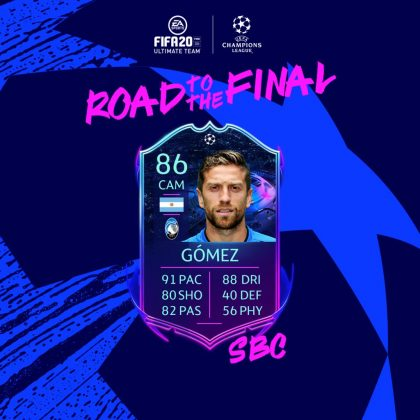 SBC Gomez Road to the Final