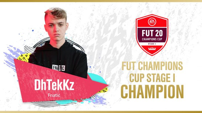 Tekkz vince FUT Champions Cup Stage 1