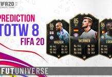 TOTW 8 Prediction FIFA 20