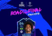 Willian Road to the Final SBC
