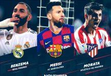 Candidati POTM La Liga Novembre