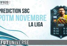 Prediction SBC POTM Nov LaLiga