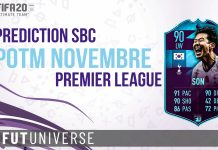 Prediction SBC POTM Nov Premier Son