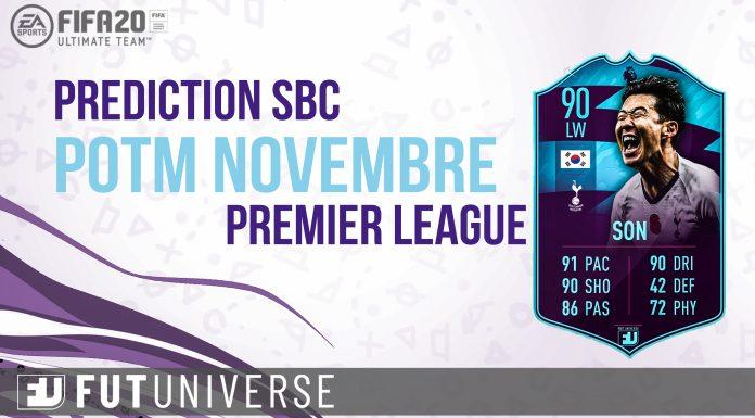 Prediction SBC POTM Nov Premier Son
