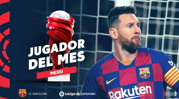 Messi POTM Novembre La Liga