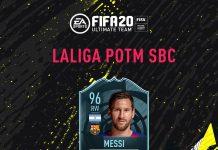 SBC Messi POTM