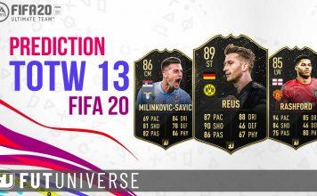 TOTW 13 Prediction