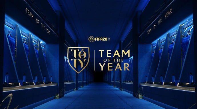 TOTY FIFA 20 - Squadra dell'anno