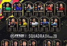 TOTW 20 FIFA 20