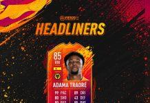SBC Headliners FIFA 20 Adama Traorè