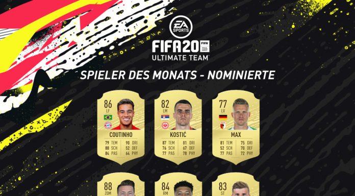 Candidati POTM dicembre Bundesliga
