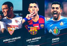 Candidati POTM dicembre La Liga