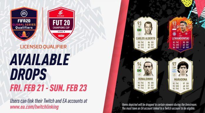 Collegare Twitch a FIFA 20