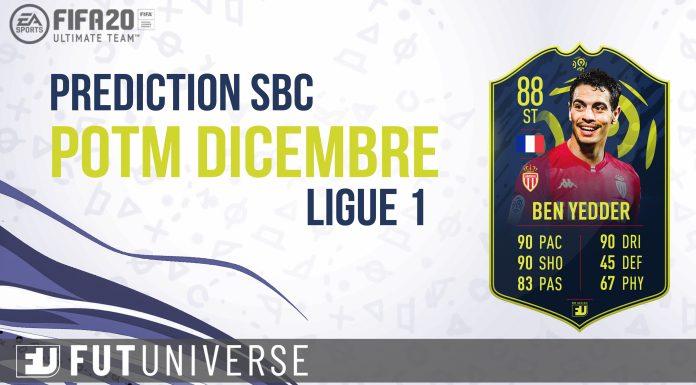Prediction SBC POTM Dicembre Ligue 1 Ben Yedder